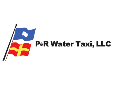 P&R Water Taxi Logo